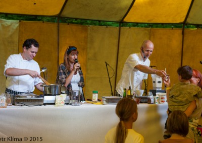 Biodožínky 2015 /fotoreport z cooking show/