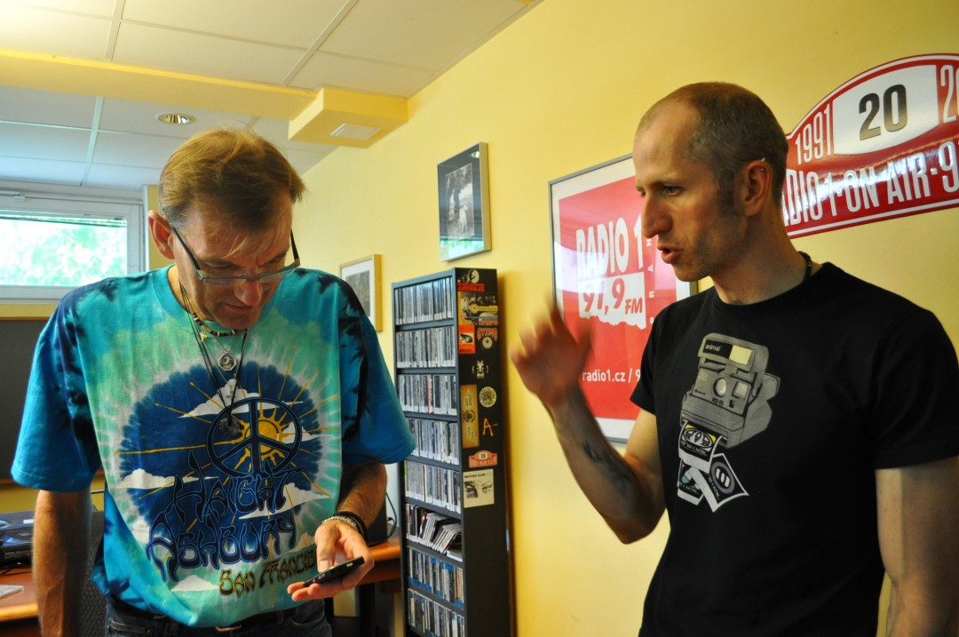 Tomáš Vydra- jednou nohou v hudbě  a druhou v tenisu