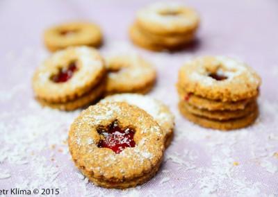 Vánoční vícezrnné cukroví