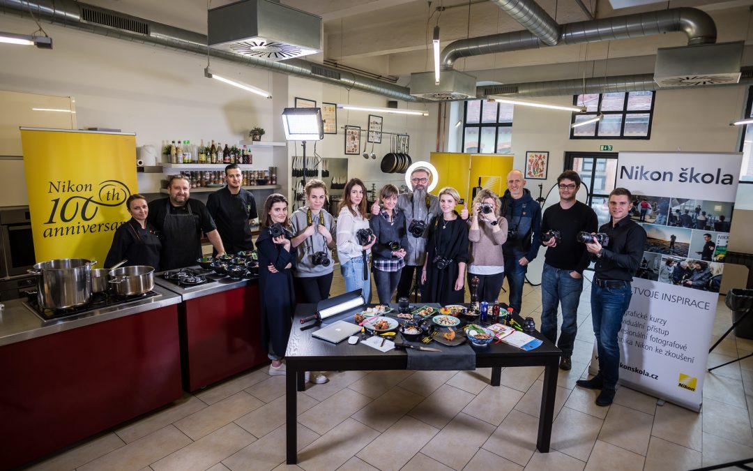 Nikon škola- jak fotit jídlo a foodstyling