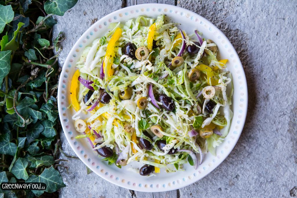 Středomořský zelný salát