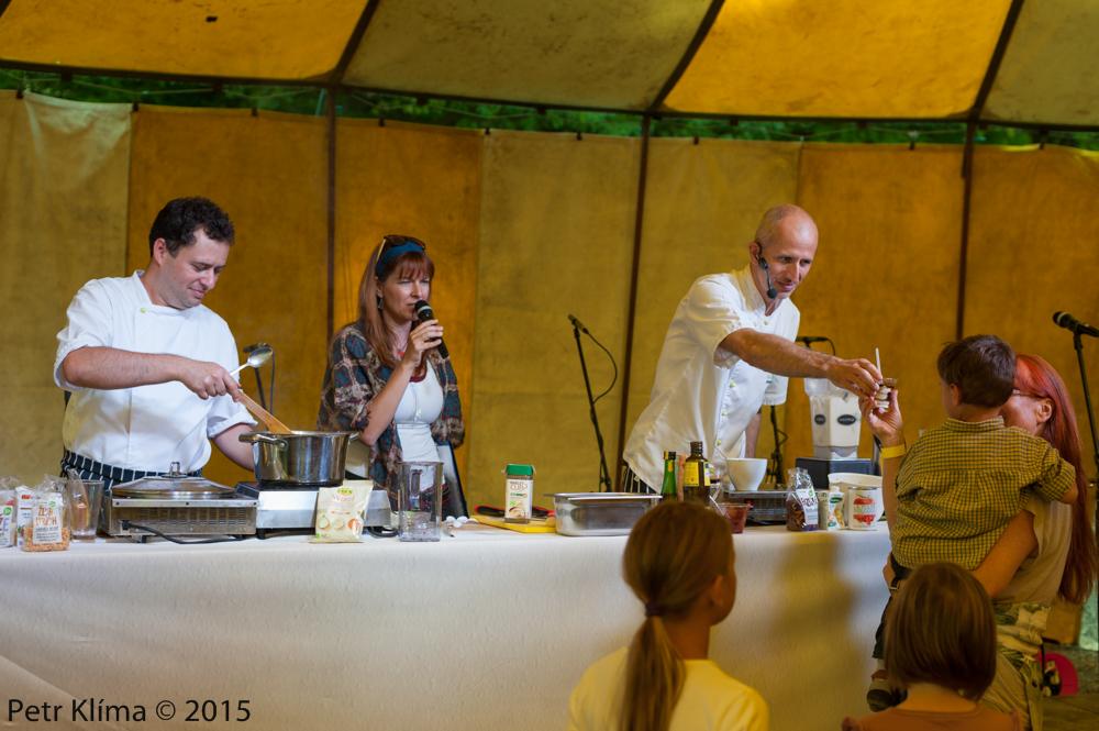 Biodožínky 2015 /fotoreport z cooking show/