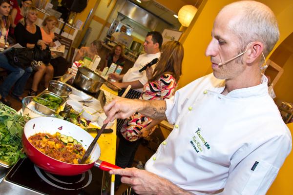 Cooking show poprvé na naší půdě v Dejvicích…
