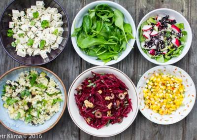 Variace salátů které musíte vyzkoušet!