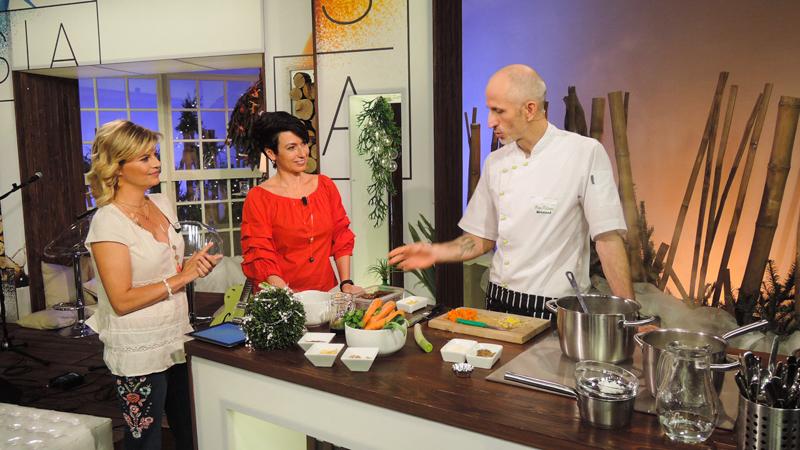 S kuchařkou na obrazovkách a v éteru!!!