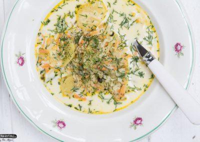 Polská okurková polévka