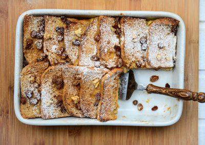Tofu žemlovka s hruškami,  vlašskými ořechy a zázvorem